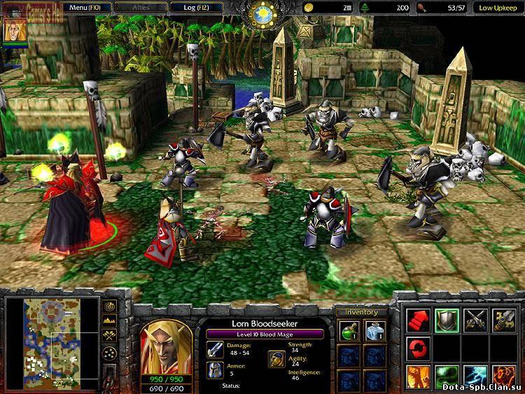 Warcraft 3 скачать торрент 1. 26 a механики prakard.